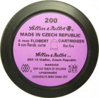 Пули и патроны Sellier & Bellot Randz Curte 4 mm 0.5 g 200 pcs