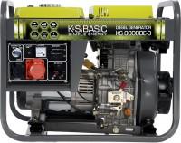Фото - Электрогенератор Konner&Sohnen Basic KS 8000DE-3