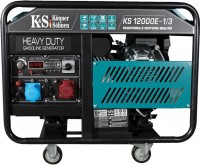 Фото - Электрогенератор Konner&Sohnen Heavy Duty KS 12000E-1/3