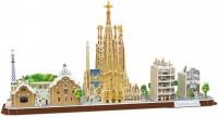 3D пазл CubicFun City Line Barcelona MC256h