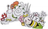 3D пазл CubicFun Honeybee Pen Holder and Snail Photo Frame P694h