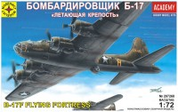 Сборная модель Modelist B-17F Flying Fortress (1:72)