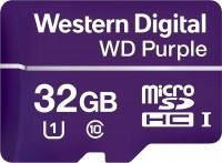 Карта памяти WD Purple microSDHC  32ГБ