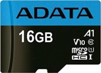 Карта памяти A-Data Premier microSDHC UHS-I Class10 16Gb