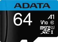 Фото - Карта памяти A-Data Premier microSDXC UHS-I Class10  64ГБ