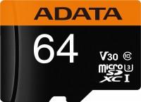Карта памяти A-Data Premier Pro microSDXC UHS-I U3 Class 10 V30G 64Gb