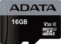 Карта памяти A-Data Premier Pro microSDHC UHS-I U3 Class 10 V30S 16Gb