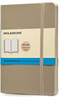 Блокнот Moleskine Dots Soft Notebook Small Beige