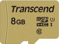 Фото - Карта памяти Transcend microSDHC 500S  8ГБ