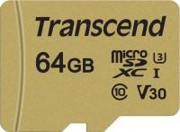 Фото - Карта памяти Transcend microSDXC 500S 64Gb
