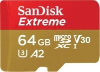 Фото - Карта памяти SanDisk Extreme V30 A2 microSDXC UHS-I U3 64Gb