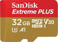 Фото - Карта памяти SanDisk Extreme Plus V30 A1 microSDHC UHS-I U3  32ГБ