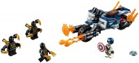 Конструктор Lego Captain America Outriders Attack 76123