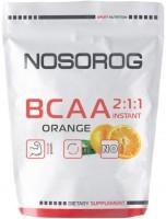 Фото - Аминокислоты Nosorog BCAA 2-1-1 400 g