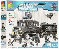 Конструктор Jubilux SWAT Corps C0556
