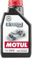 Моторное масло Motul Hybrid 0W-16 1л