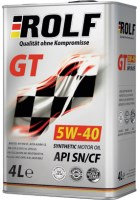 Моторное масло Rolf GT 5W-40 SN/CF 4л