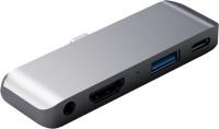 Картридер/USB-хаб Satechi Aluminum Type-C Mobile Pro Hub