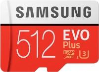 Фото - Карта памяти Samsung EVO Plus 100 Mb/s microSDXC UHS-I U3  512ГБ