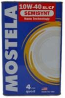 Моторное масло Mostela Syntec 10W-40 4л