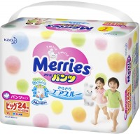 Подгузники Merries Pants XL / 24 pcs