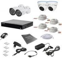 Фото - Комплект видеонаблюдения Tecsar AHD 4MIX 2MEGA
