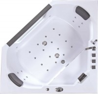 Ванна IRIS hydro TLP-643  155x155см гидромассаж