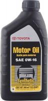 Моторное масло Toyota Motor Oil 0W-16 SN 1л
