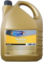 Моторное масло Aveno Mineral Super 15W-40 4л
