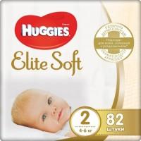 Подгузники Huggies Elite Soft 2 / 82 pcs