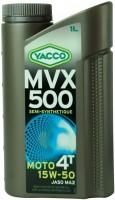 Моторное масло Yacco MVX 500 4T 15W-50 1л