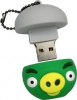 Фото - USB Flash (флешка) Uniq Angry Birds Bad Piggies in a Gray Helmet  16ГБ