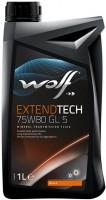 Фото - Трансмиссионное масло WOLF Extendtech 75W-80 GL5 1л