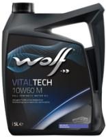 Моторное масло WOLF Vitaltech 10W-60 M 5L 5л