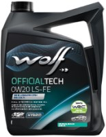 Моторное масло WOLF Officialtech 0W-20 LS-FE 4 л