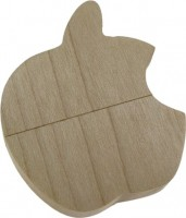 Фото - USB Flash (флешка) Uniq Wooden Apple 3.0  128 ГБ