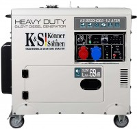 Фото - Электрогенератор Konner&Sohnen Heavy Duty KS 8200HDES-1/3 ATSR