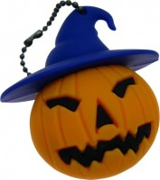 Фото - USB Flash (флешка) Uniq Halloween Pumpkin in a Hat 3.0  64 ГБ