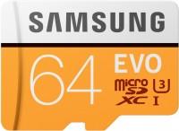 Карта памяти Samsung EVO microSDXC UHS-I U3  64ГБ