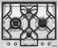 Фото - Варочная поверхность Smeg PGF64 нержавеющая сталь