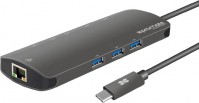 Картридер/USB-хаб Promate PrimeHub-C