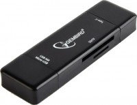 Картридер/USB-хаб Gembird UHB-CR3IN1-01
