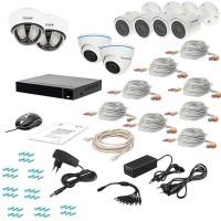 Фото - Комплект видеонаблюдения Tecsar AHD 8MIX 5MEGA