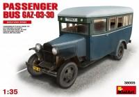 Сборная модель MiniArt Passenger Bus GAZ-03-30 (1:35)