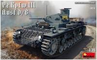 Сборная модель MiniArt Pz.Kpfw.III Ausf.D/B (1:35)
