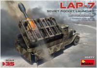 Сборная модель MiniArt LAP-7 Soviet Rocket Launcher (1:35)