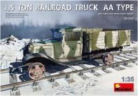 Сборная модель MiniArt 1.5 Ton Railroad Truck AA Type (1:35)
