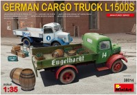 Сборная модель MiniArt German Cargo Truck L1500S (1:35)