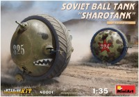 Фото - Сборная модель MiniArt Soviet Ball Tank Sharotank (1:35)