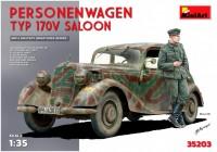 Сборная модель MiniArt Personenwagen Typ 170V Saloon (1:35)